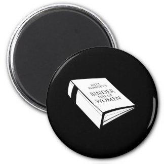 BINDER FULL OF WOMEN COSTUME 6 CM ROUND MAGNET
