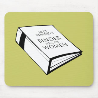 BINDER FULL OF WOMEN COSTUME MOUSE PAD