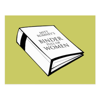 BINDER FULL OF WOMEN COSTUME POSTCARD
