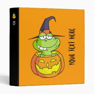 Binder - Halloween Frog!