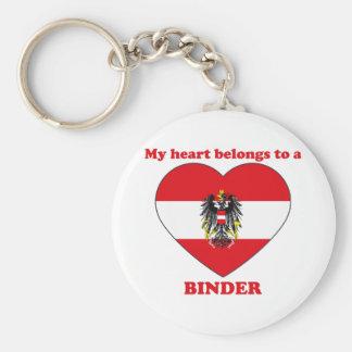 Binder Keychain