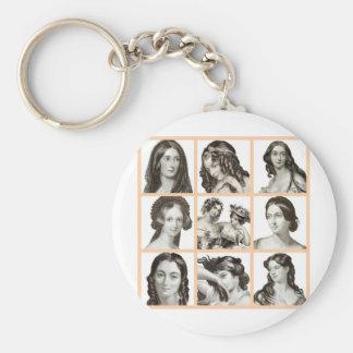 """""""Binder of Women"""" - Basic Round Button Key Ring"""