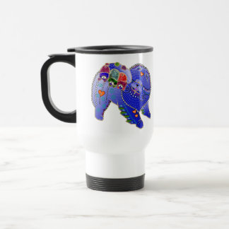 BINDI Chow family travel mug