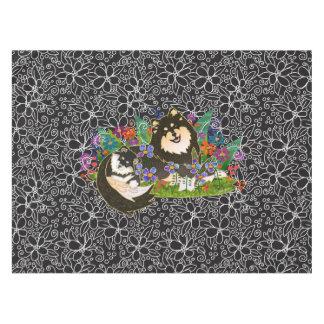 BINDI  Finnish Lapphund cotton tablecloth