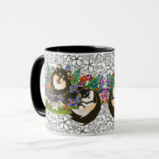 BINDI LAPPY Finnish Lapphund mug-choose color-size Mug