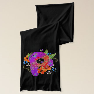 BINDI ROUGH CHOW scarf -  choose color