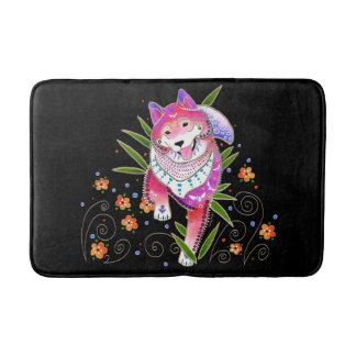 BINDI Shiba Madame Butterfly crate/bath mat