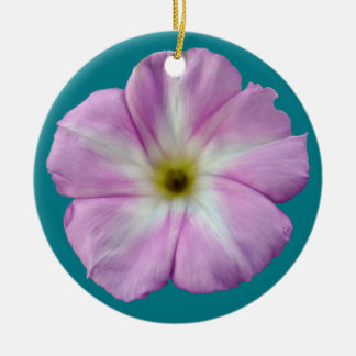 Bindweed #1 round ceramic decoration