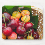 Bing And Rainier Cherries Mouse Pad