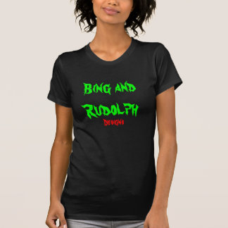 Bing and Rudolph: Logo T-shirt