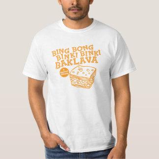 Bing Bong Binki Binki Baklava Funny 90s TV T-Shirt