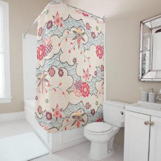 Bingata Bath Shower Curtain