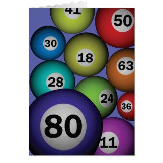 Bingo 80 card