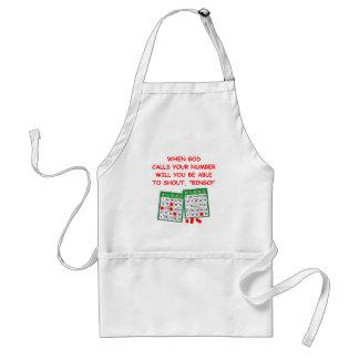 bingo adult apron