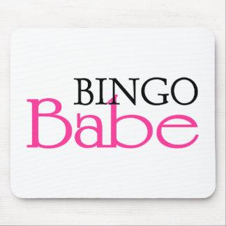 Bingo Babe Mouse Pad