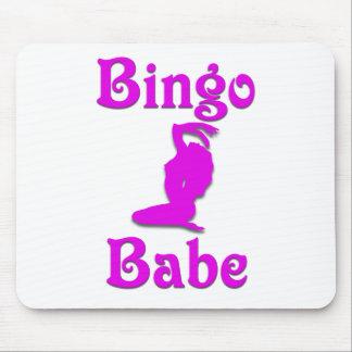 Bingo Babe Mouse Pads