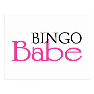 Bingo Babe Post Cards