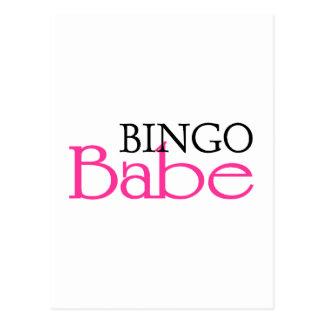 Bingo Babe Postcard