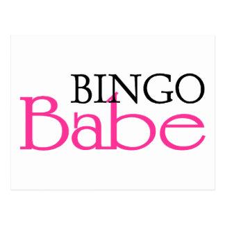 Bingo Babe Post Card