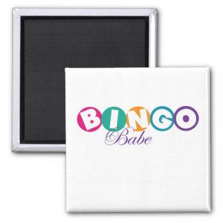 Bingo Babe Square Magnet