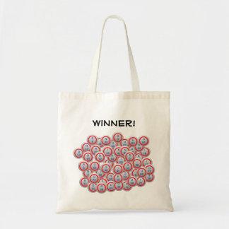 Bingo Balls Tote Bags