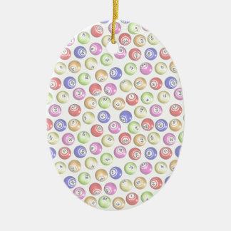 Bingo Balls Ornaments