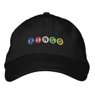 Bingo Balls Embroidered Hats
