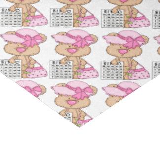 Bingo Bear Gambling tissue paper