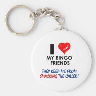 BINGO! Bingo designs for the fabulous player! Key Ring