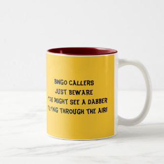 BINGO callers Two-Tone Coffee Mug