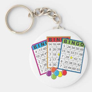 Bingo Cards Key Ring