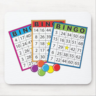 Bingo Cards Mouse Mat