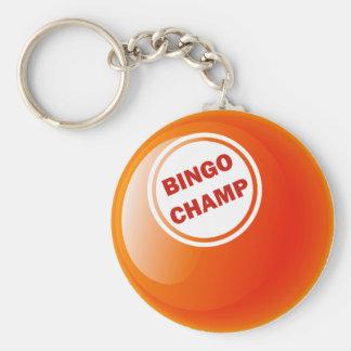 BINGO CHAMP BINGO BALL KEY CHAINS