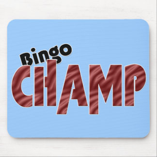 Bingo Champ Champion Vegas Style Any Color Mouse Pad