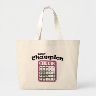 Bingo Champion Jumbo Tote Bag