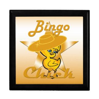 Bingo Chick #10 Large Square Gift Box