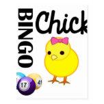 Bingo Chick Postcard