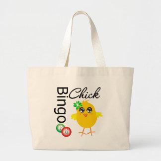 Bingo Chick Jumbo Tote Bag