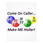 Bingo! Come on Caller, Make ME Holler! 21.5 Cm X 28 Cm Flyer