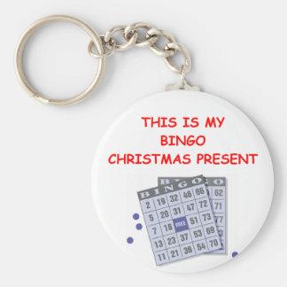 BINGO cristmas Key Ring