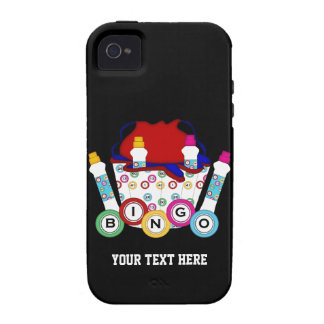 Bingo Customizable Vibe iPhone 4 Cover