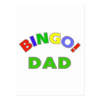 Bingo Dad Post Card