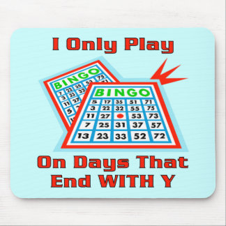 Bingo Days Mouse Mat