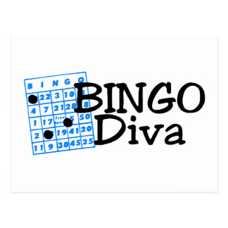 Bingo Diva Postcard