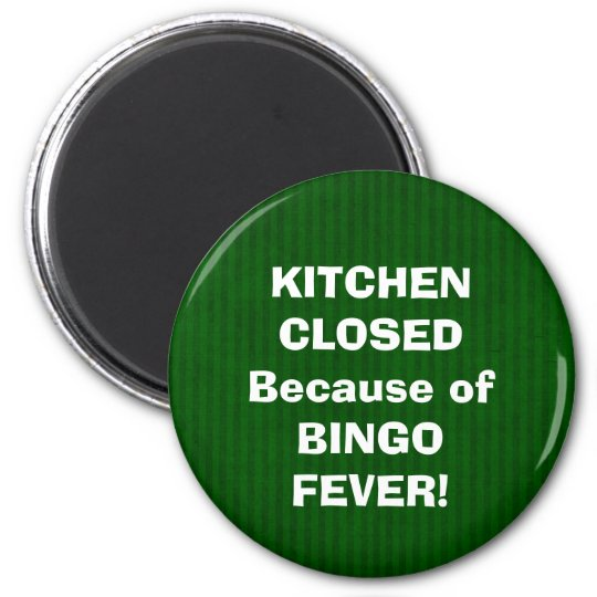 Bingo Fever magnet
