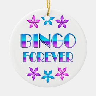 Bingo Forever Christmas Ornament