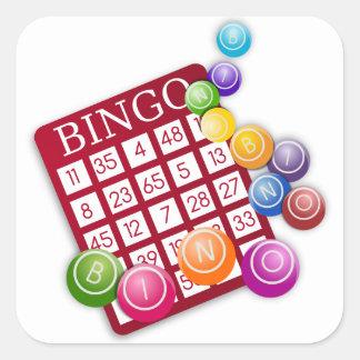 Bingo Game Square Sticker