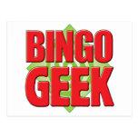 Bingo Geek v2 Postcard