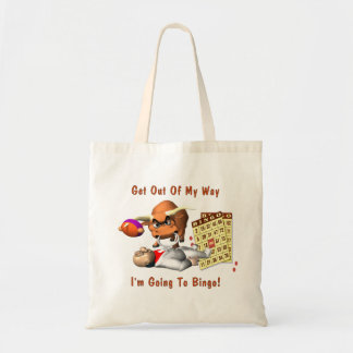 Bingo: Get Out Of My Way Budget Tote Bag