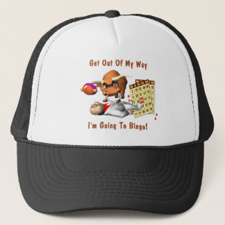 Bingo: Get Out Of My Way Trucker Hat